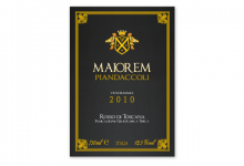 2011 | Azienda Agricola Piandaccoli | Etichetta vino Maiorem 2010